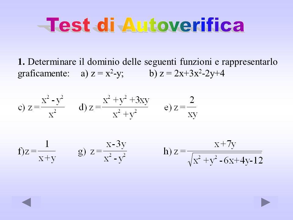 Test di Autoverifica 1.