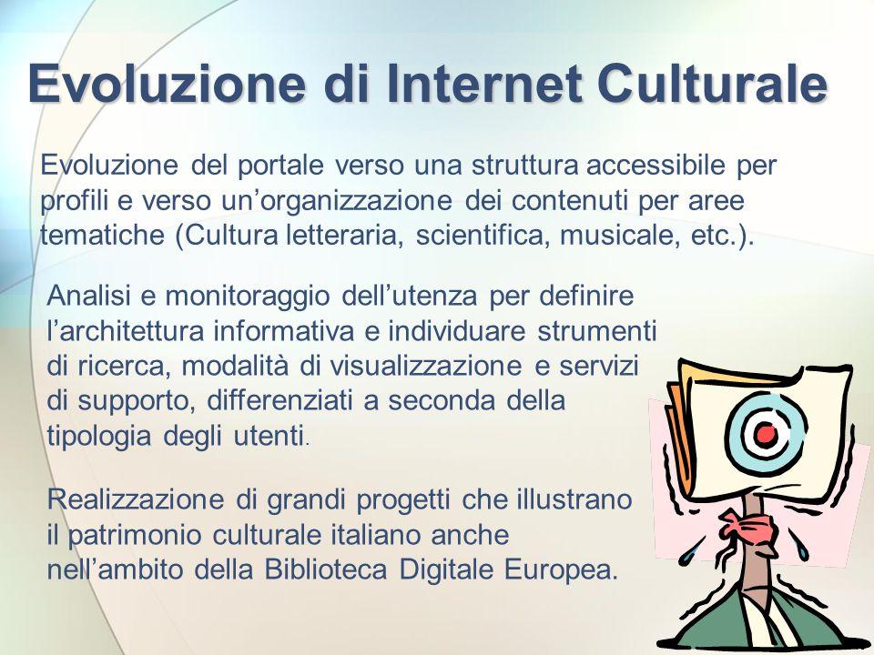 Evoluzione di Internet Culturale
