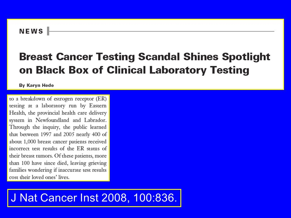 J Nat Cancer Inst 2008, 100:836.