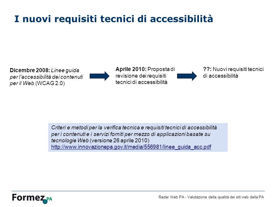 I nuovi requisiti tecnici di accessibilità