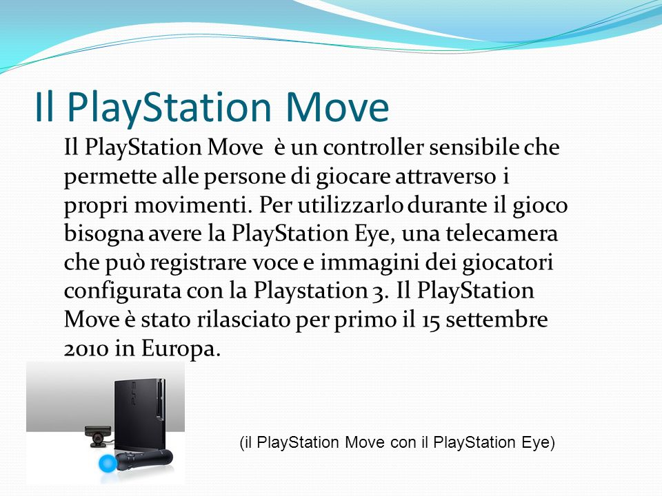 Il PlayStation Move