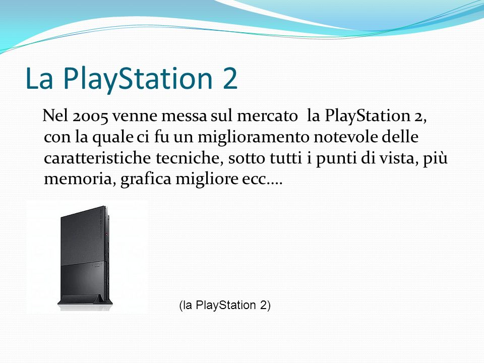 La PlayStation 2