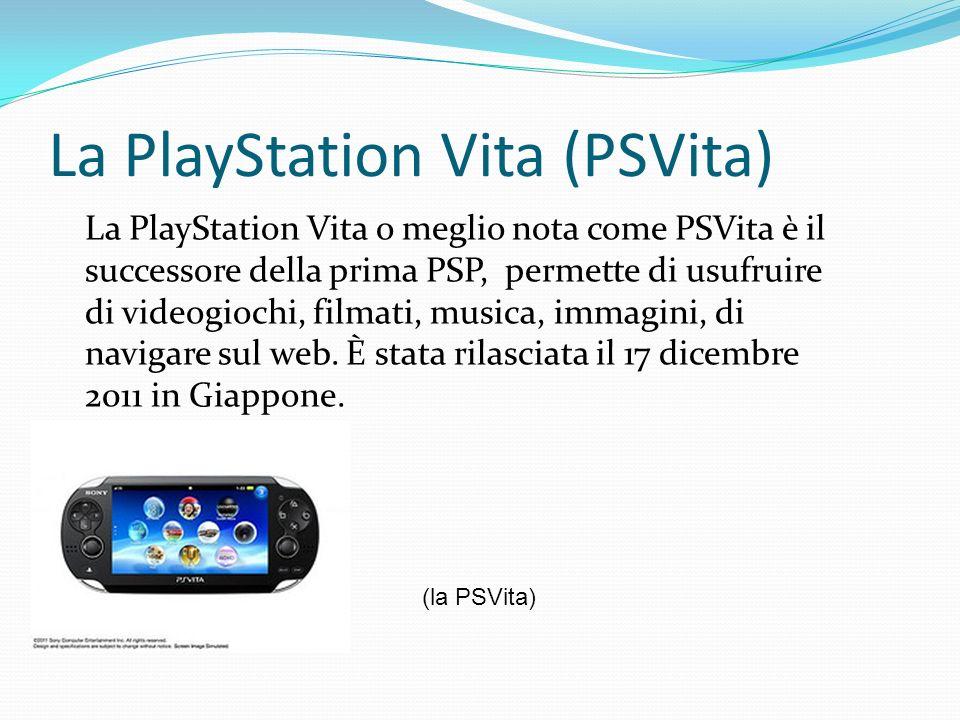 La PlayStation Vita (PSVita)