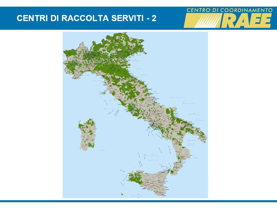 CENTRI DI RACCOLTA SERVITI - 2