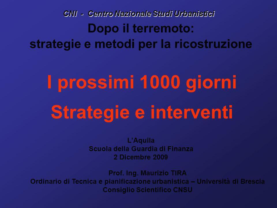 CNI - Centro Nazionale Studi Urbanistici