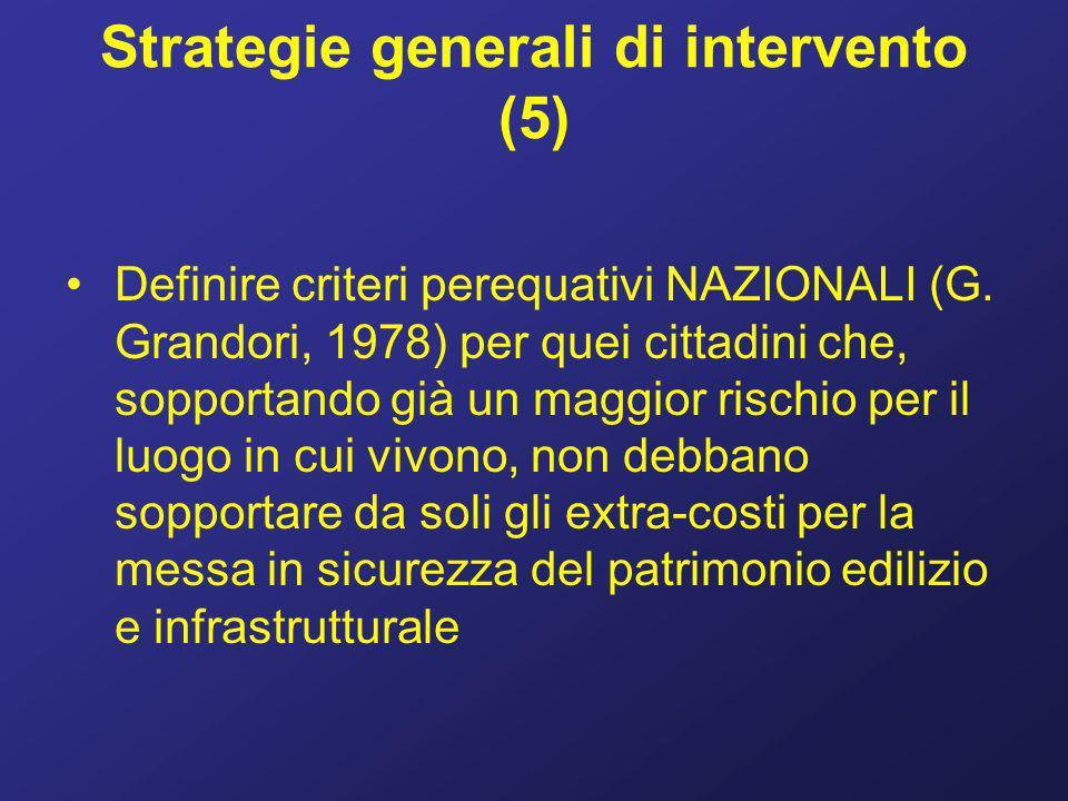 Strategie generali di intervento (5)