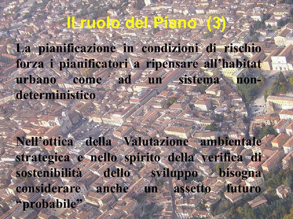 Il ruolo del Piano (3)