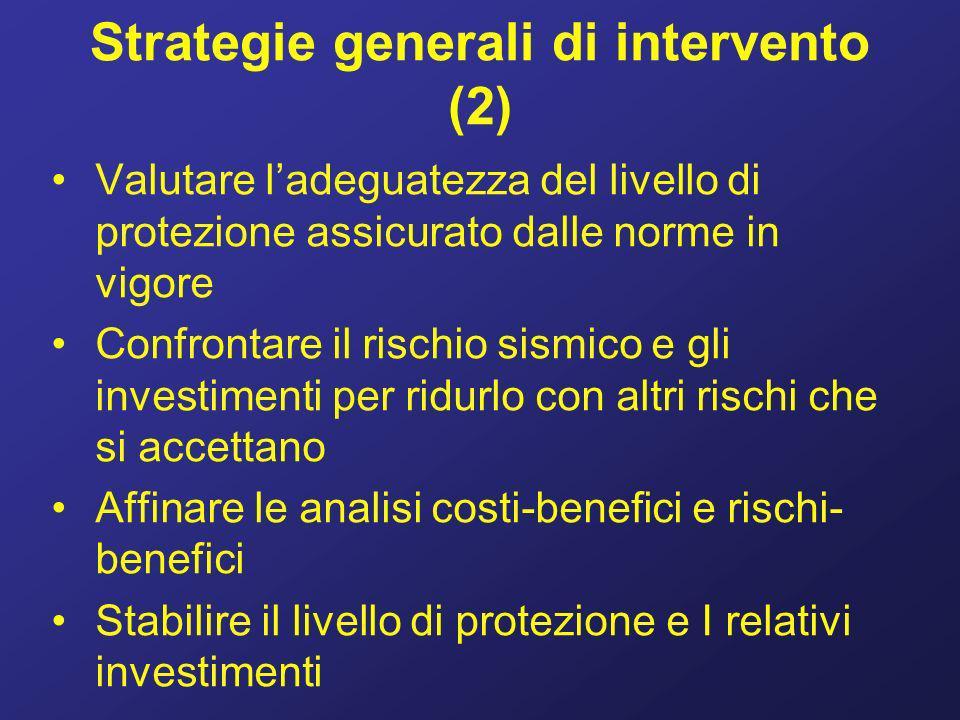 Strategie generali di intervento (2)