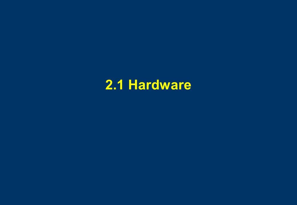 2.1 Hardware
