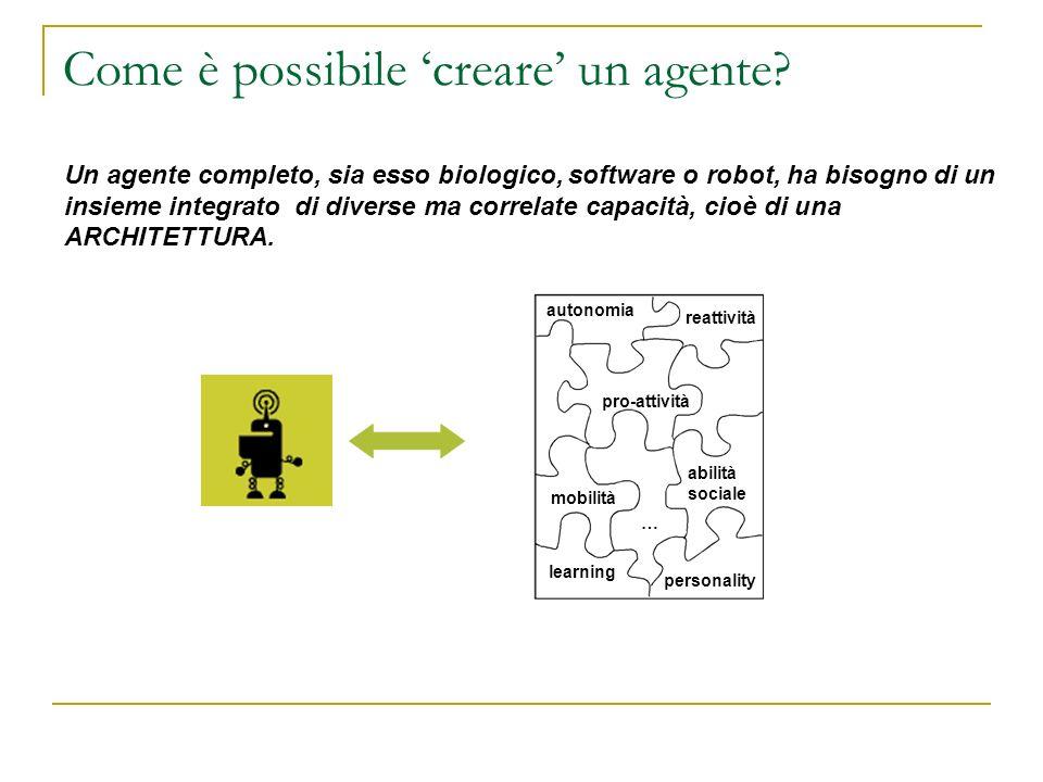 Come è possibile 'creare' un agente