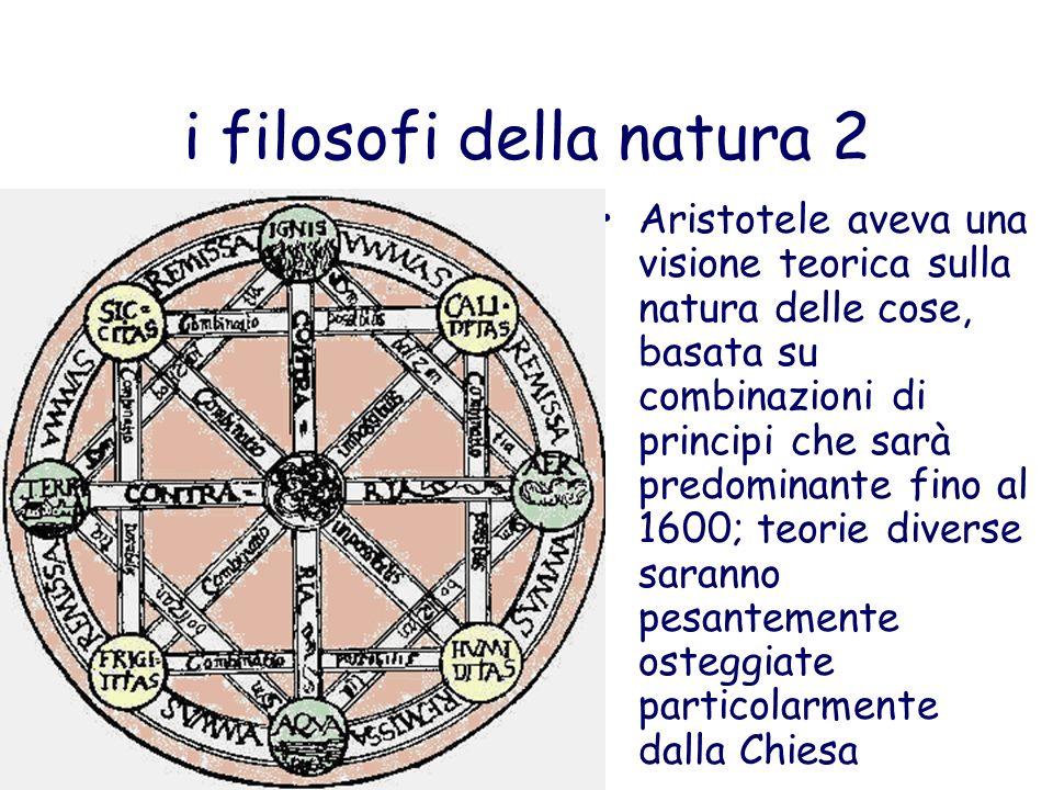 i filosofi della natura 2