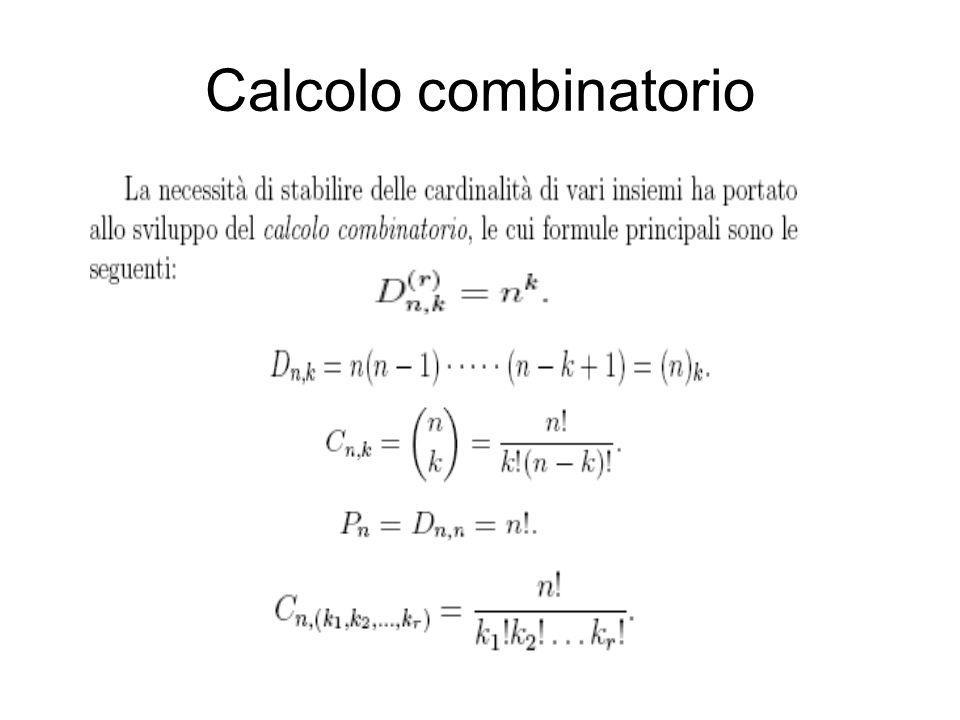 Calcolo combinatorio
