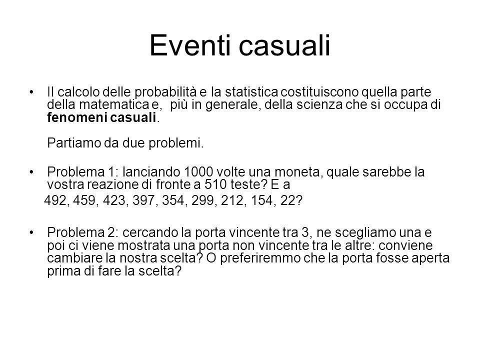 Eventi casuali