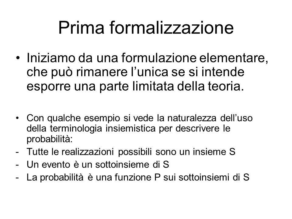 Prima formalizzazione