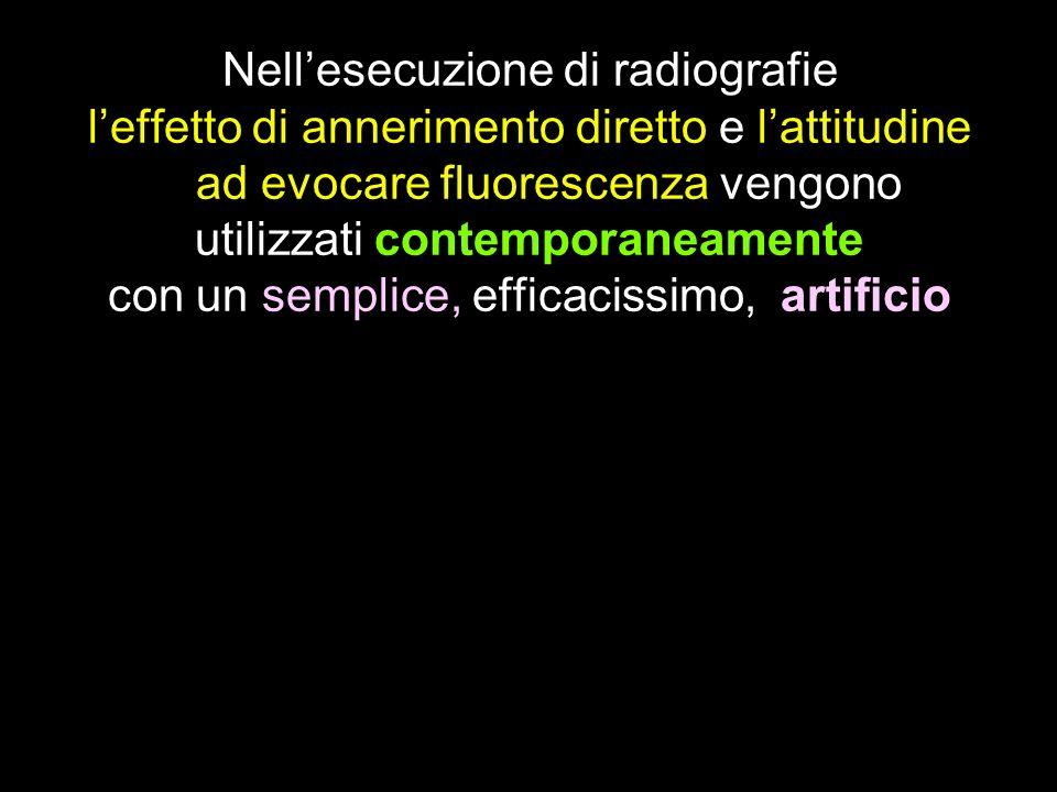 Nell'esecuzione di radiografie