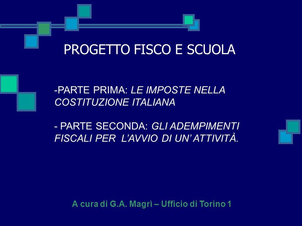 A cura di G.A. Magrì – Ufficio di Torino 1