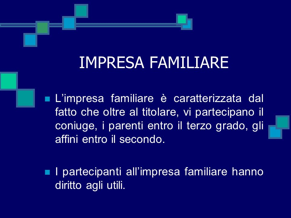 IMPRESA FAMILIARE