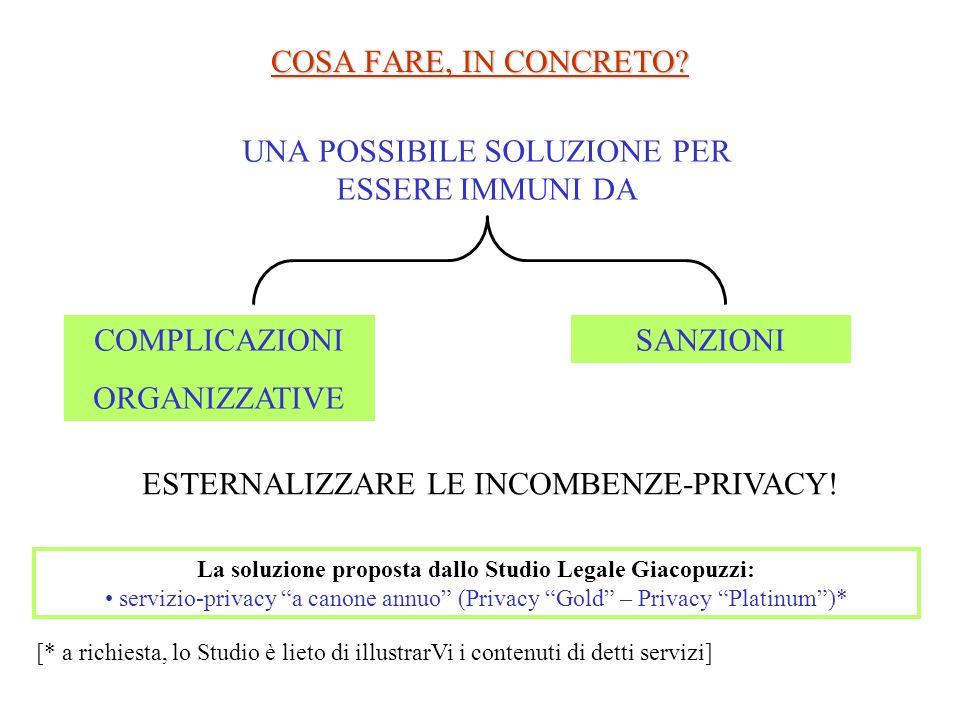 La soluzione proposta dallo Studio Legale Giacopuzzi: