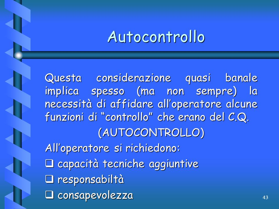 Autocontrollo