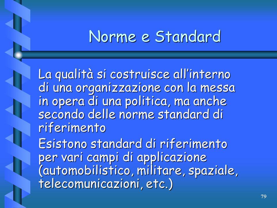 Norme e Standard