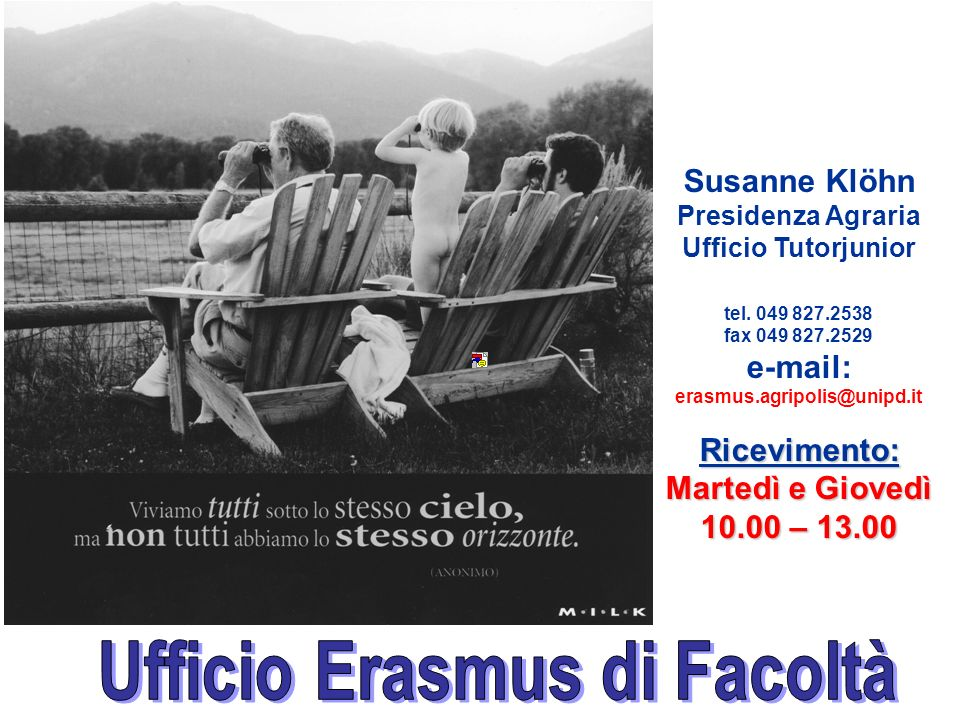 Ufficio Erasmus di Facoltà