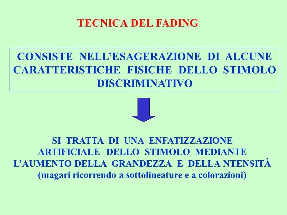 CONSISTE NELL'ESAGERAZIONE DI ALCUNE