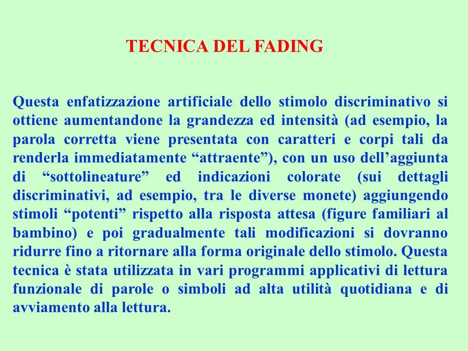 TECNICA DEL FADING