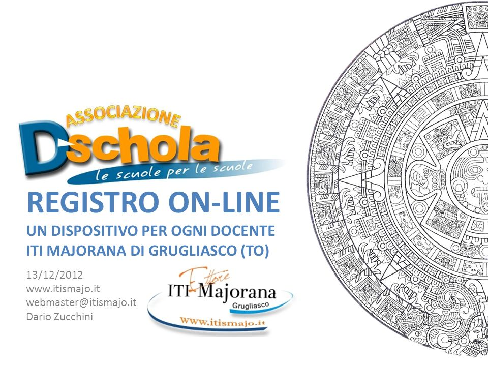 Registro On-Line UN DISPOSITIVO PER OGNI DOCENTE