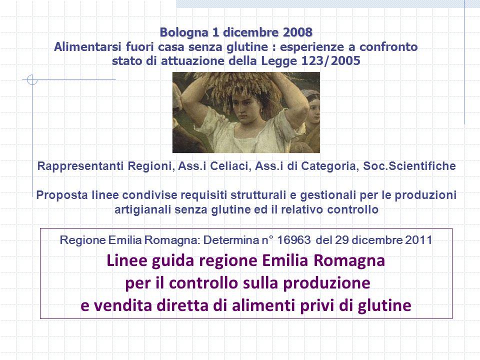 Linee guida regione Emilia Romagna