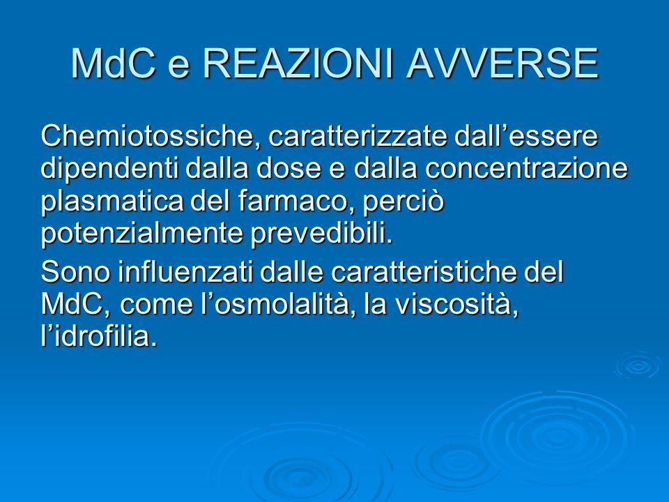 MdC e REAZIONI AVVERSE