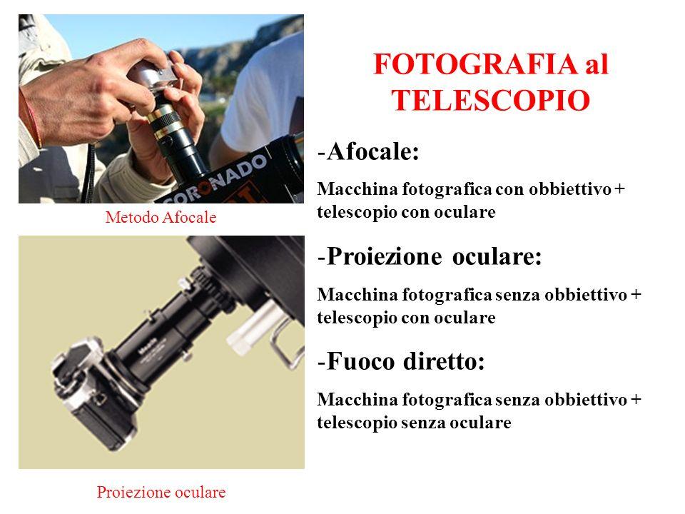 FOTOGRAFIA al TELESCOPIO