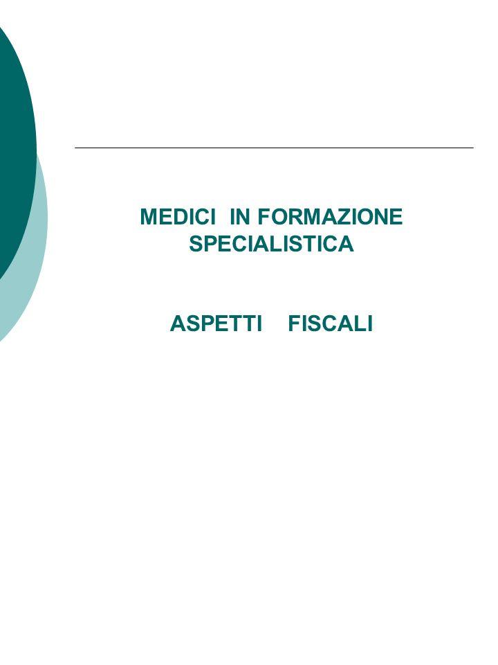 Medici in formazione specialistica