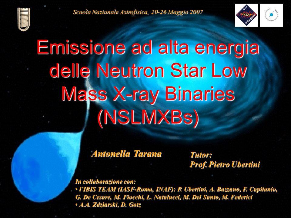 Scuola Nazionale Astrofisica, 20-26 Maggio 2007