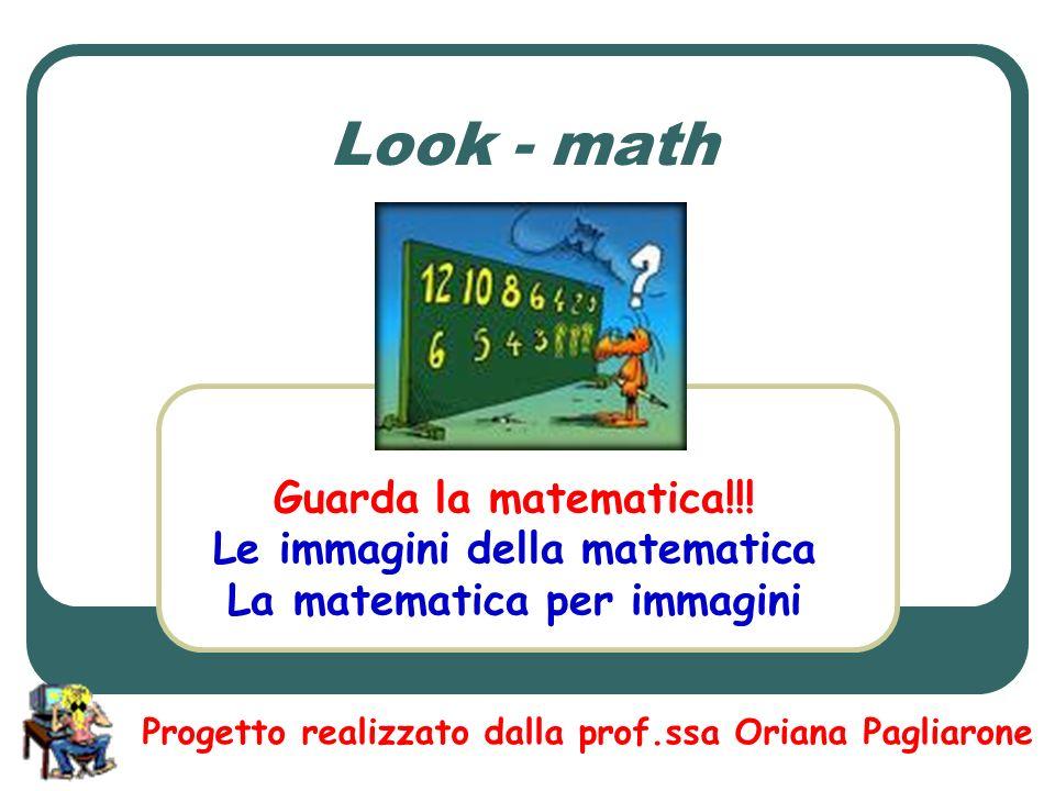 Le immagini della matematica La matematica per immagini