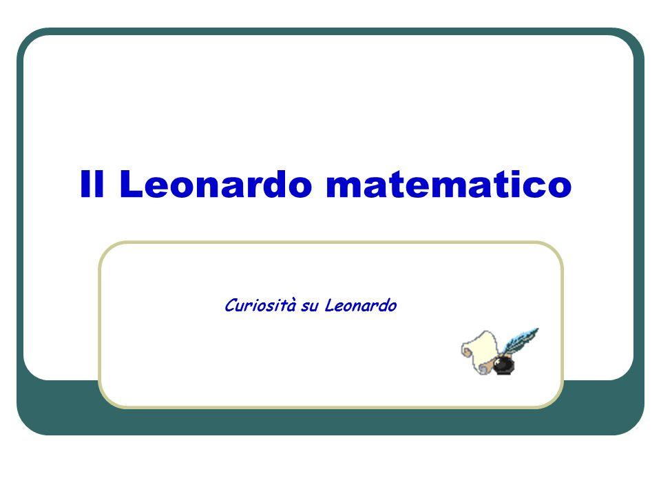 Il Leonardo matematico