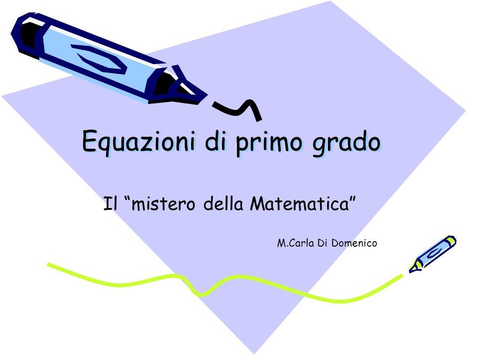 Equazioni di primo grado ppt scaricare - Tavola di tracciamento secondo grado ...