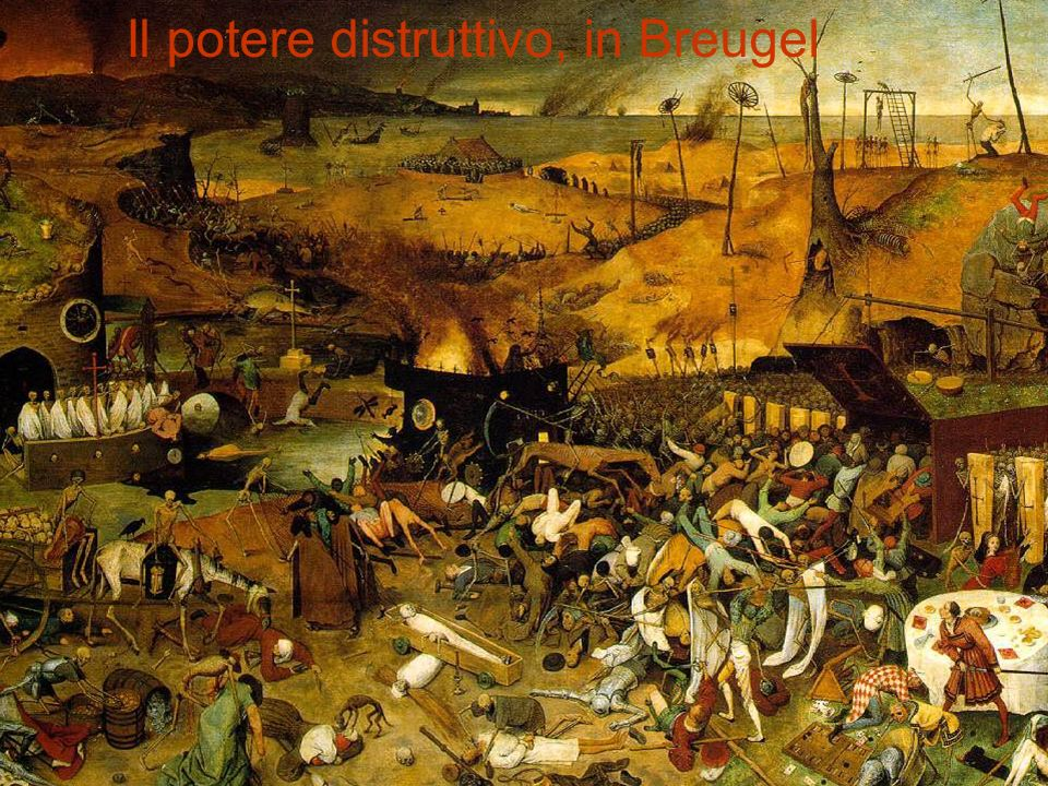 Il potere distruttivo, in Breugel