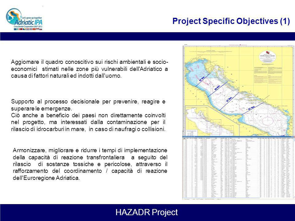 Project Specific Objectives (1)