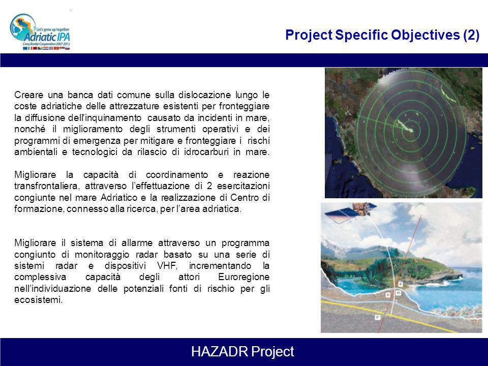 Project Specific Objectives (2)