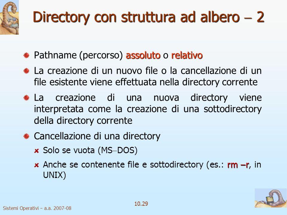 Directory con struttura ad albero  2