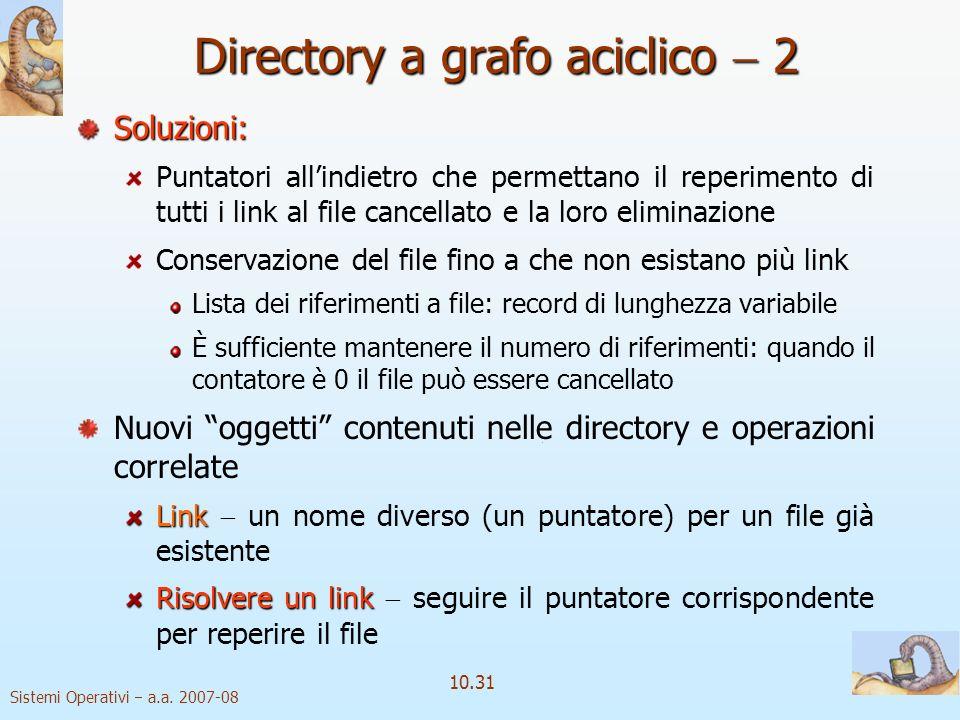 Directory a grafo aciclico  2
