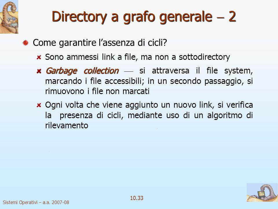Directory a grafo generale  2
