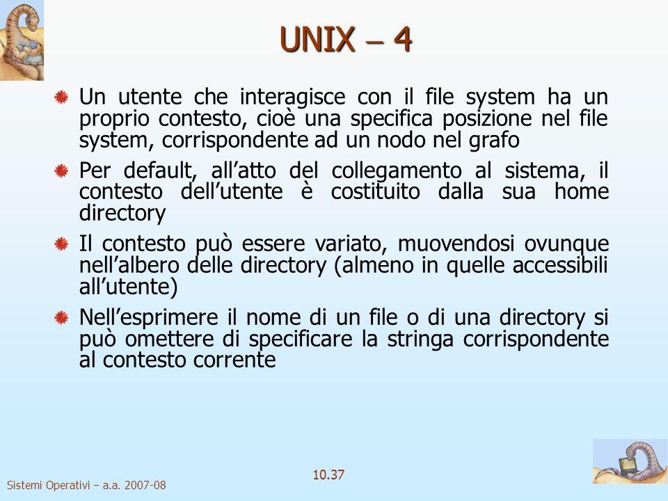 UNIX  4