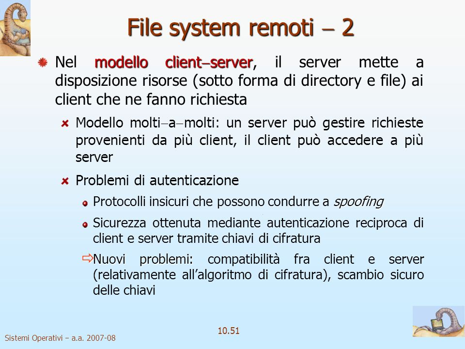 File system remoti  2