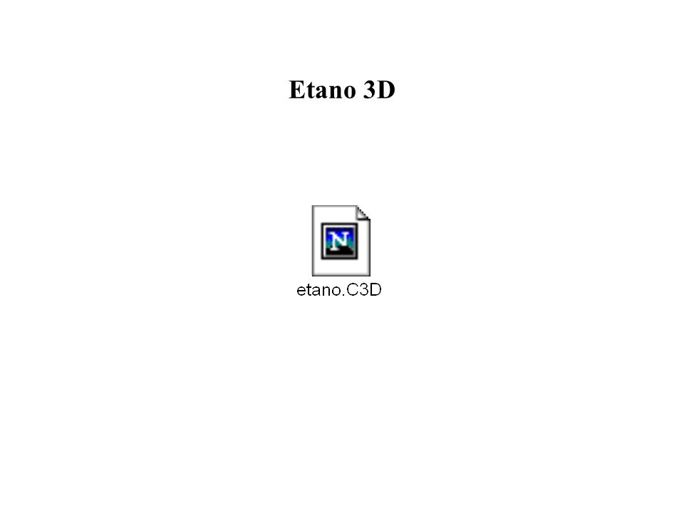 Etano 3D