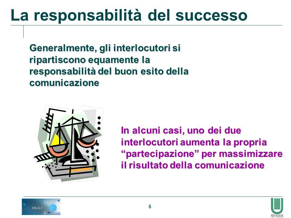 La responsabilità del successo