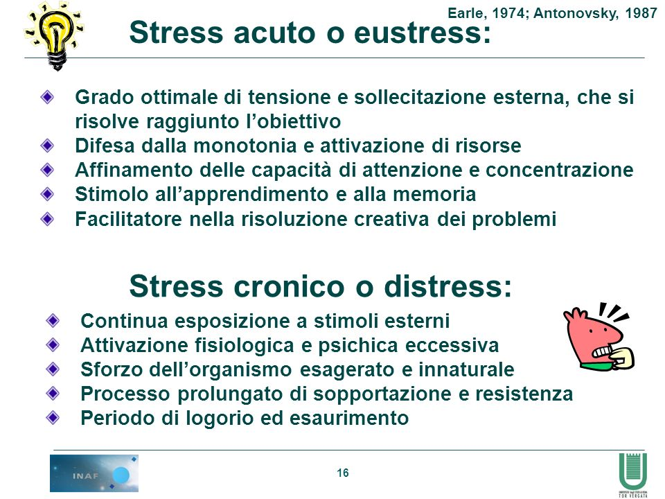 Stress acuto o eustress: