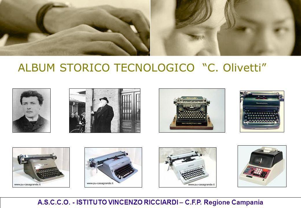 ALBUM STORICO TECNOLOGICO C. Olivetti