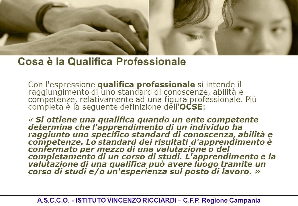 Cosa è la Qualifica Professionale