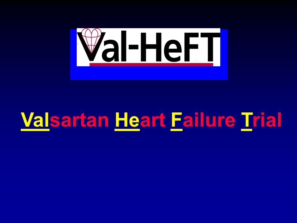 Valsartan Heart Failure Trial